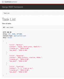 Task API Dummy Data