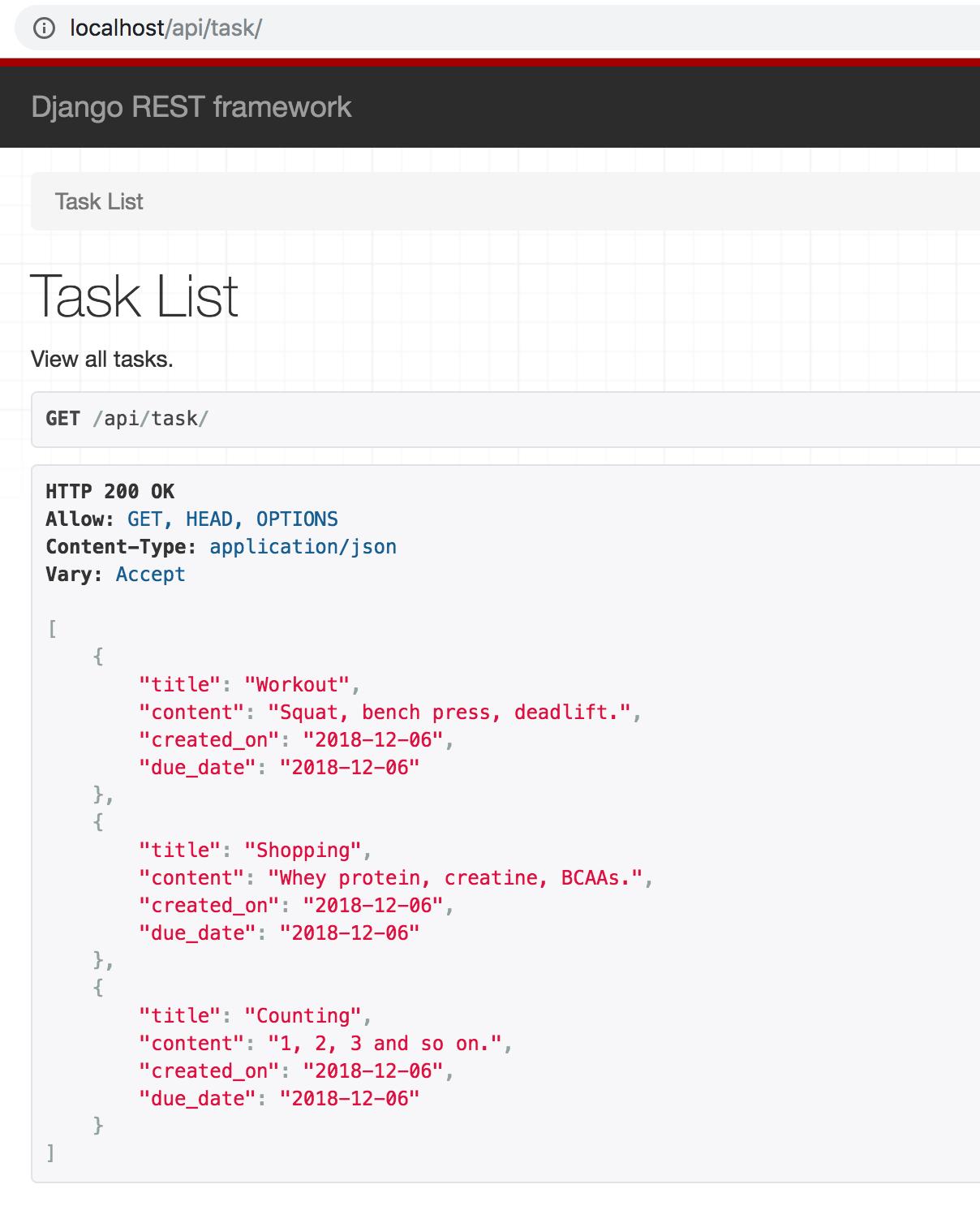 Dockerized Django Back-end API with Angular Front-end Tutorial (Part