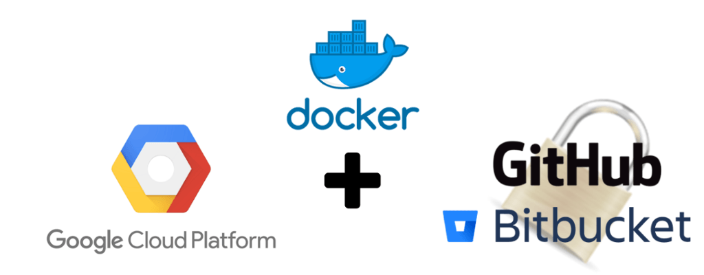 Docker image in GCP from GitHub Bitbucket repo